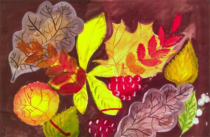 краски осени-сочинения 3 класс